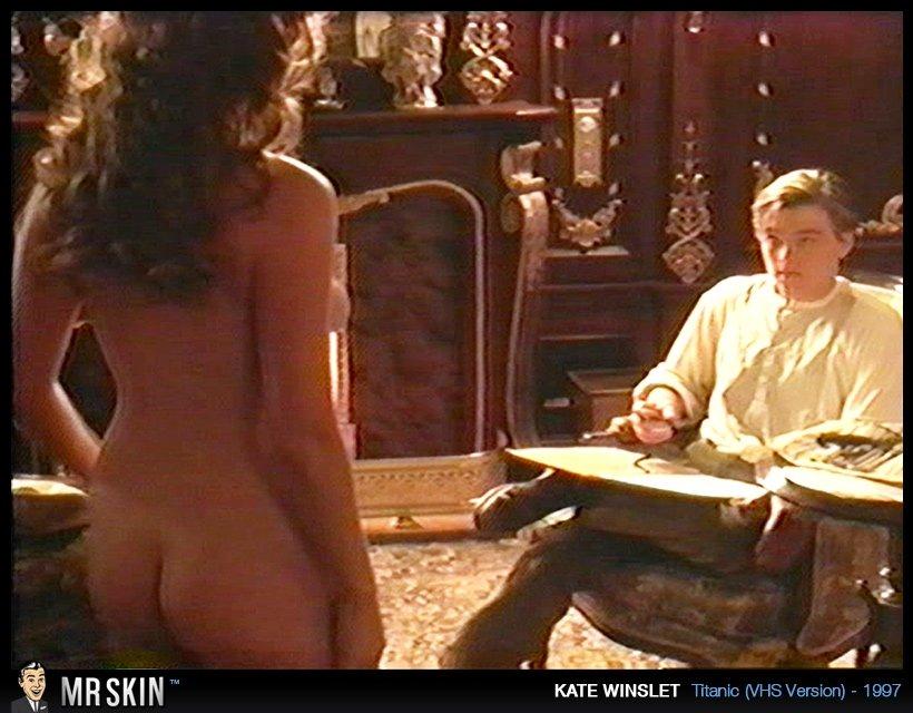 Знаменитая Kate Winslet не раз засвечивала свои интимные части тела